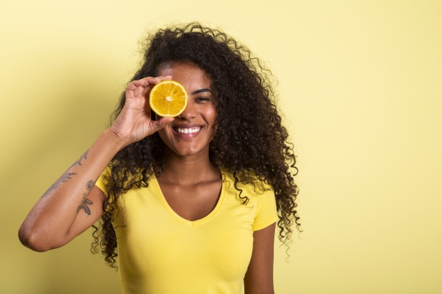 Woman vitamin C