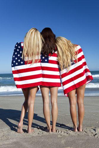 Women US Flag